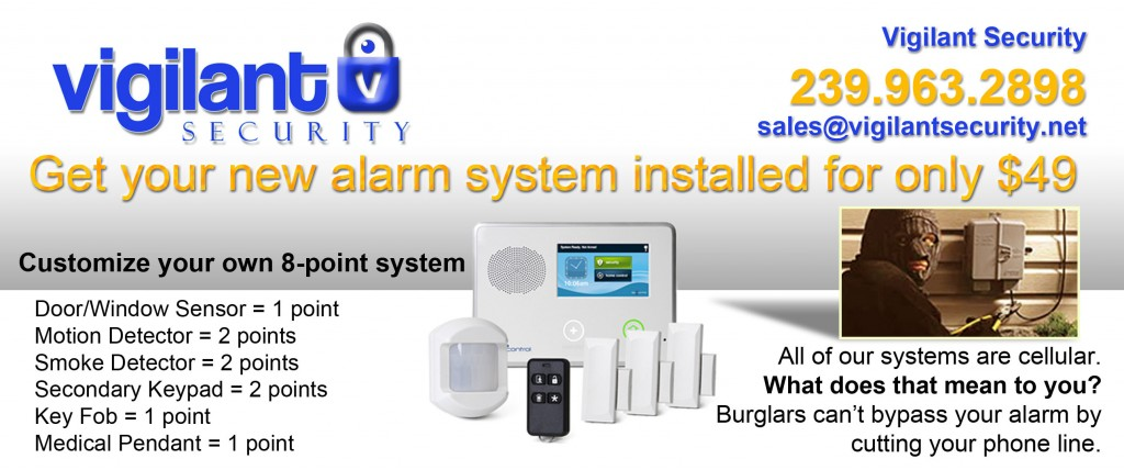 Naples Home Security | Our Current Offer